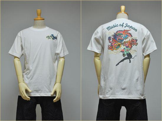 京都和柄「むかしむかし」デビルマンメンズ和柄Tシャツ半袖