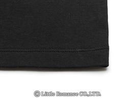 「むかしむかし」レディス和柄半袖TシャツDetails裾