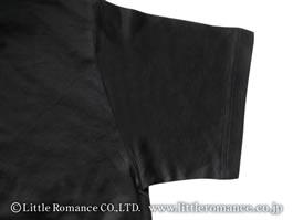 「むかしむかし」レディスシルケット半袖TシャツDetails肩・袖口
