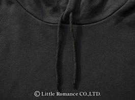 「むかしむかし」メンズ和柄かぶりパーカーDetails襟紐
