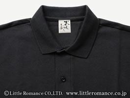 「むかしむかし」メンズ和柄半袖TシャツDetails襟・ネームタグ