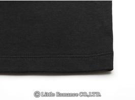 「むかしむかし」メンズ和柄半袖TシャツDetails裾