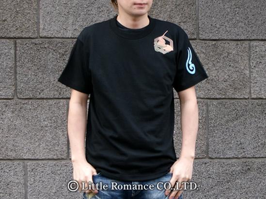 京都和柄「むかしむかし」メンズ和柄Tシャツ半袖